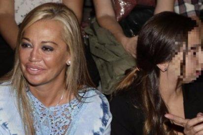 """Belén Esteban, la de """"por Andreíta yo mato"""", y le hace un 'feo' a su propia hija"""