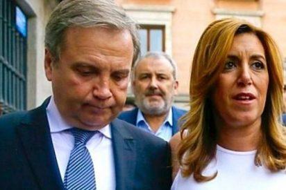 Carmona salta al ruedo y le 'rompe la cara' al pedrista Silva, por burlarse de Susana Díaz