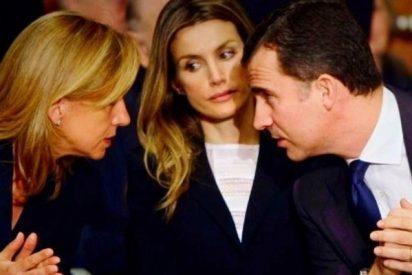 La Reina Letizia saca los dientes y pincha un encuentro entre el Rey Felipe y la Infanta Cristina