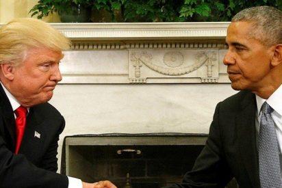 Donald Trump acusa a Barack Obama de pinchar su teléfono antes de las elecciones