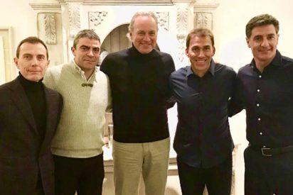 La 'Quinta del Buitre ' en 'Mi casa es tu casa': Bertín Osborne no censuró al futbolista Miguel Pardeza