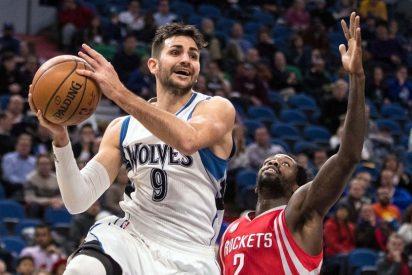 Ricky enlaza por primera vez en la NBA 4 partidos con 20 puntos pero su equipo palma: Heat 123 - Timberwolves 105