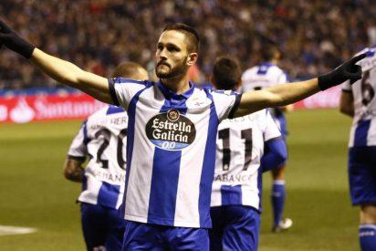 Con el susto en el cuerpo: Deportivo de La Coruña 1 - Atlético de Madrid 1