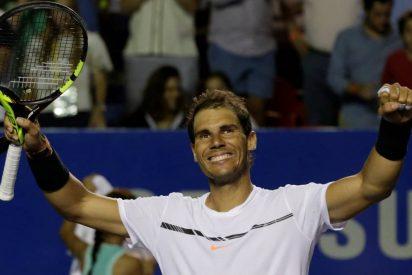 Rafa Nadal corre a palos a Cilic y se mete en Acapulco su segunda final consecutiva