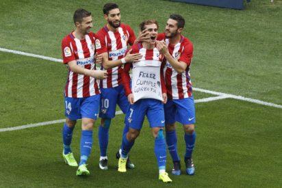 El 'Pupas' no suelta la Champions: Atlético de Madrid 3 - Valencia CF 0