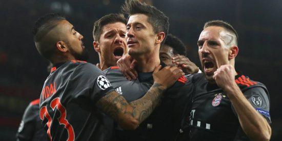 Un Bayern sin piedad aplasta al Arsenal en el Emirates y le endosa un 10-2 en la eliminatoria