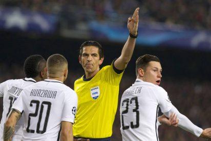 """Aytekin, el árbitro alemán amigo del Barça en Champions, dijo """"fuck you"""" a los jugadores del PSG"""