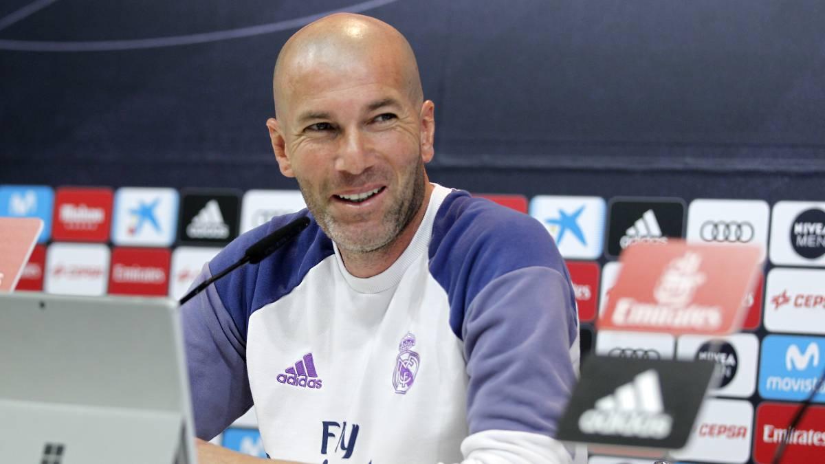 """Zinedine Zidane: """"El Real Madrid es el Real Madrid, molestamos y esto no va a cambiar"""""""