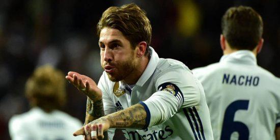 'Cabeza de Oro' Sergio Ramos no tiene fin: Real Madrid 2 - Real Betis 1