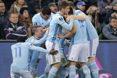 El Celta se clasifica para cuartos de final por cuarta vez en su historia: FC Krasnodar 0 - Celta 2