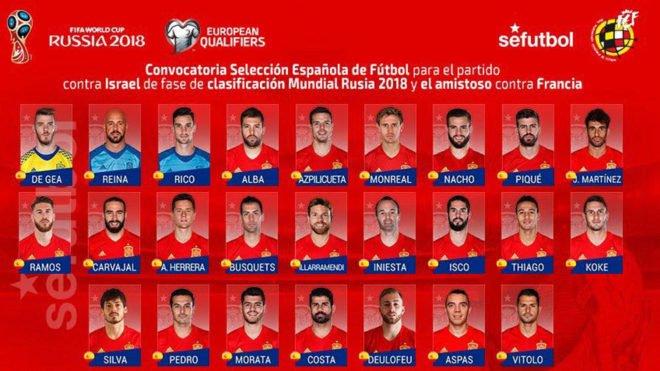 Lista de Lopetegui: Illarramendi, Deulofeu y Pedro, novedades en la Selección