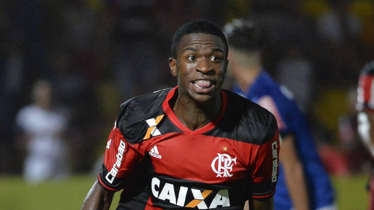 El Barcelona se asegura el fichaje de a Vinicius Junior, la gran sensación brasileña