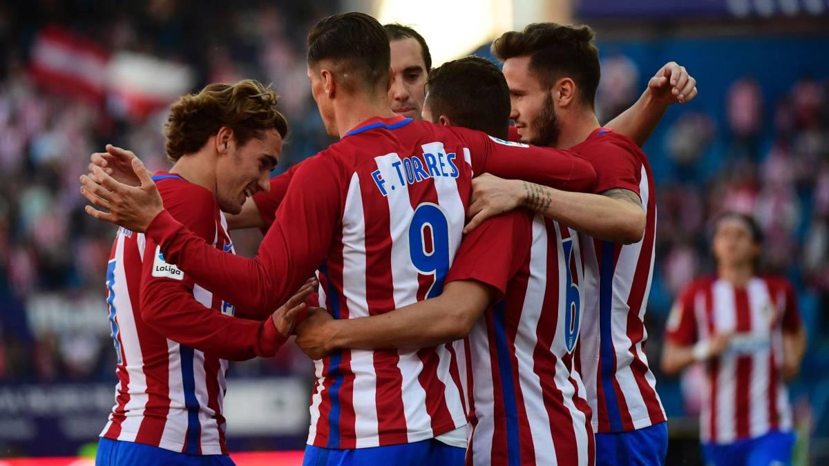 El Atleti del Cholo Simeone sólo mira hacia arriba: Atlético de Madrid 3 - Sevilla 1