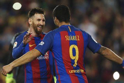 Messi mantiene al Barça en la lucha por la Liga: FC Barcelona 4 - Valencia CF 2