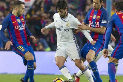 El Real Madrid está dispuesto a tirar millones con tal de que Isco no fiche por el Barça