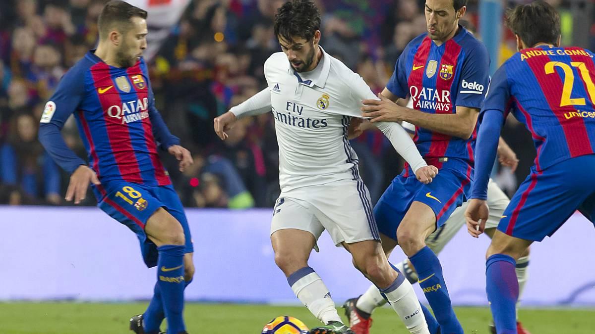 El Barça quiere fastidiar al Real Madrid y ofrece 20 millones a Isco como prima de fichaje