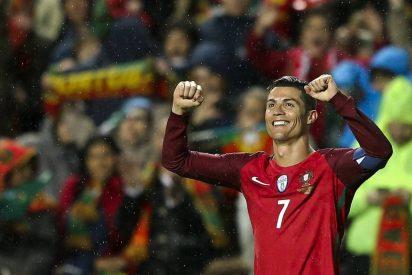 Cristiano Ronaldo recupera puntería y lidera la goleada de Portugal con un doblete