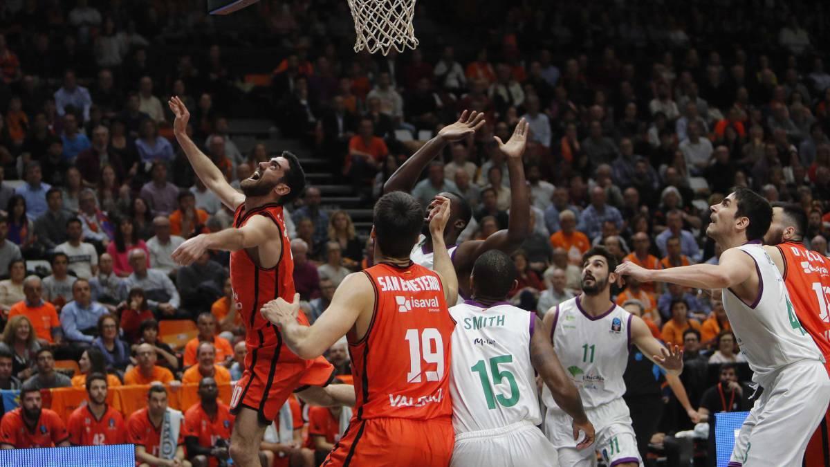 El Valencia golpea primero en Eurocup: Valencia Basket 68 - Unicaja 62
