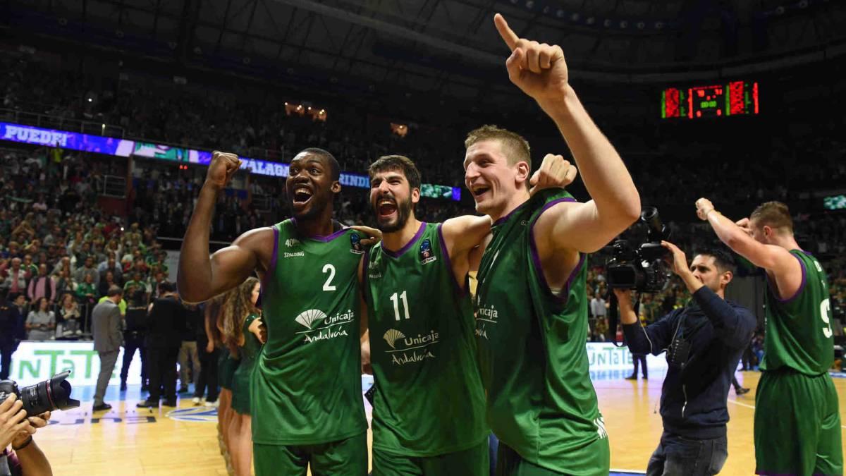 El Unicaja fuerza el tercero y la Eurocup se decidirá en Valencia: Unicaja 79 - Valencia Basket 71