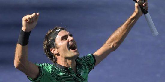 Un Roger Federer eterno conquista Indian Wells y estira una era sin fin