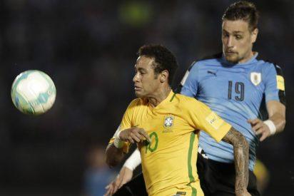 Brasil quedó listo para Rusia-2018: venció 1-4 a Uruguay en Montevideo