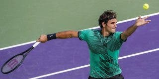 Roger Federer salva dos bolas de partido antes de tumbar a Berdych y meterse en semifinales de Miami
