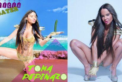 Leticia Sabater se deja el pellejo en su nueva canción del verano 'Toma pepinazo'