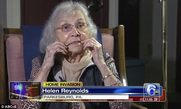 [VÍDEO] La ocurrencia de una viuda de 88 años para no ser violada por un ratero