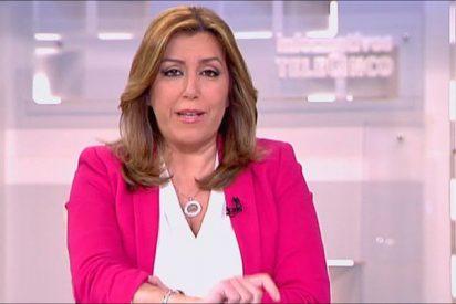 La socialista Susana Díaz se confiesa a medias con Pedro Piqueras