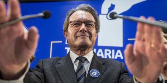 La Fiscalía recurre al Supremo para que condene al independentista Artur Mas también por prevaricación