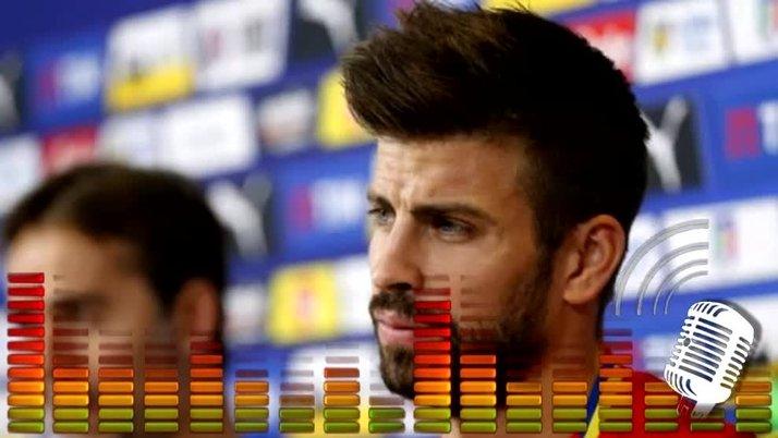"""Gerard Piqué: """"La abogada Marta Silva Lapuerta, la que imputó a Messi, estaba en el palco del Madrid"""""""