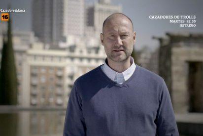 'Cazadores de trolls': Pedro García Aguado es empujado e insultado en su primer programa