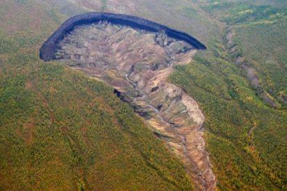 """""""La puerta del infierno"""": el gigantesco y misterioso cráter de Siberia"""