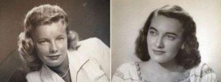 Las gemelas de 97 años que han muerto de frío en la puerta de su casa