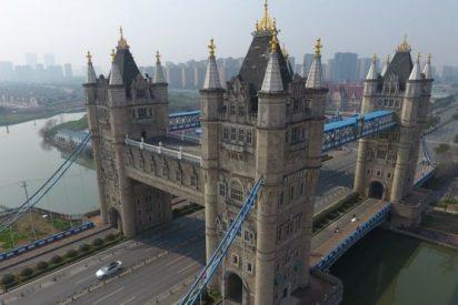 La curiosa ciudad china que copia puentes de todo el mundo