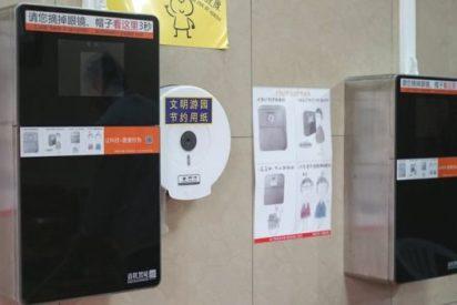 Los chinos instalan máquinas de reconocimiento facial para evitar robos de papel higiénico