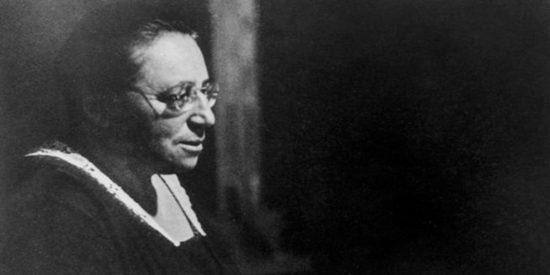 Emmy Noether; la mujer a la que Einstein elogió por su genialidad matemática