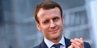 El huevazo al candidato presidencial Emmanuel Macron en plena campaña