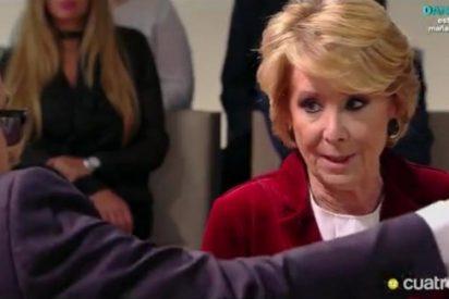 """Esperanza Aguirre: """"El PP es un partido que sube impuestos sin parar"""""""