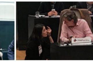 La bronca de Rita Maestre a la mano derecha de Carmena por votar a favor de Leopoldo López