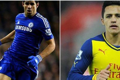 Alexis Sánchez llegaría a Chelsea si se va Diego Costa