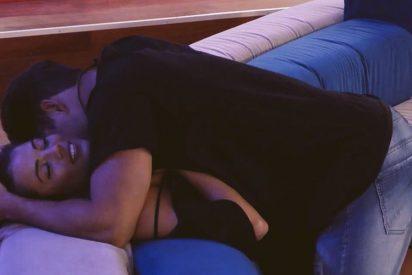 'GH VIP': Alyson se pone cachonda, disfruta de una noche de pasión con el brasileño Antonio y se arrepiente
