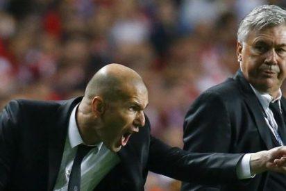 Ancelotti calienta el cruce con el Real Madrid con una puñalada a Zidane