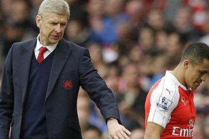 Arsene Wenger 'desafía' a Alexis Sánchez (con un mensaje con 'copia' al Chelsea)