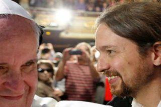 """Pablo Iglesias: """"Parece que la jerarquía en España quiere cortar la cabeza a los hombres del Papa"""""""
