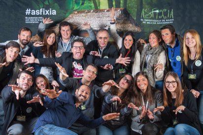 Selvas Amazónicas invitó a más de cien familias valencianas a 'Asfixia'