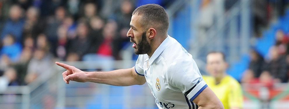 Benzema se crece: el contundente mensaje del francés tras la goleada al Eibar