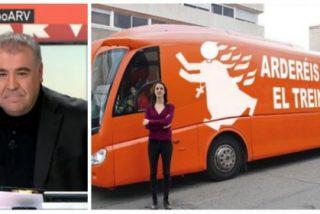 """Una portavoz de Hazte Oír estalla ante la impertinencia de Ferreras: """"Yo no le he faltado al respeto"""""""