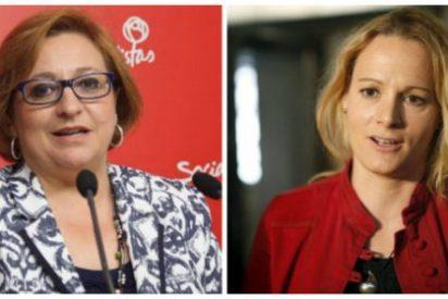 Pelea de gatas en el PSOE entre una sanchista y una susanista