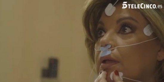 El mal trago de Terelu durante unas pruebas médicas